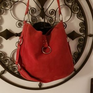 Old Navy Suede Boho Bag